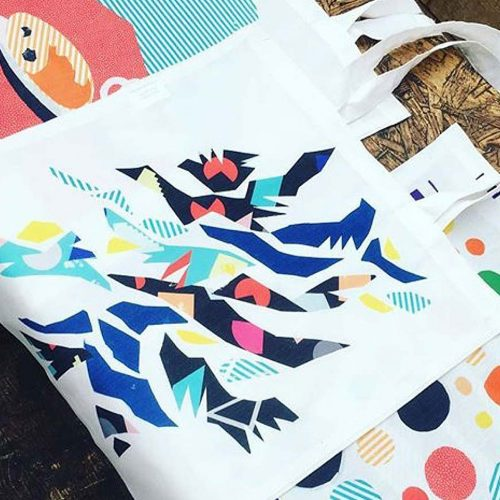 Brixton Design Trail 2016 - Brixton Bag, printing workshop by Studio MelB