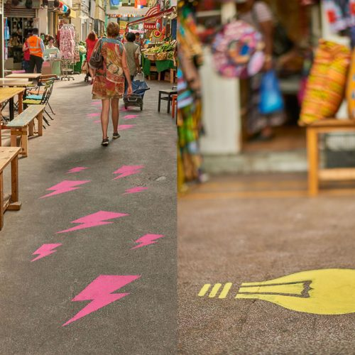Brixton Design Trail 2016 - Fabric of Brixton by Brixi and Fourline