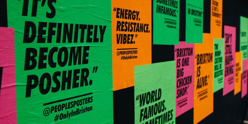 Brixton Design Trail 2016 - Peoples Posters by Champion Agency